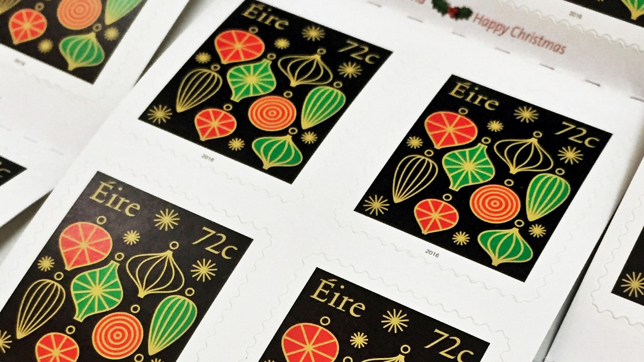Christmas Stamps 2016 -1