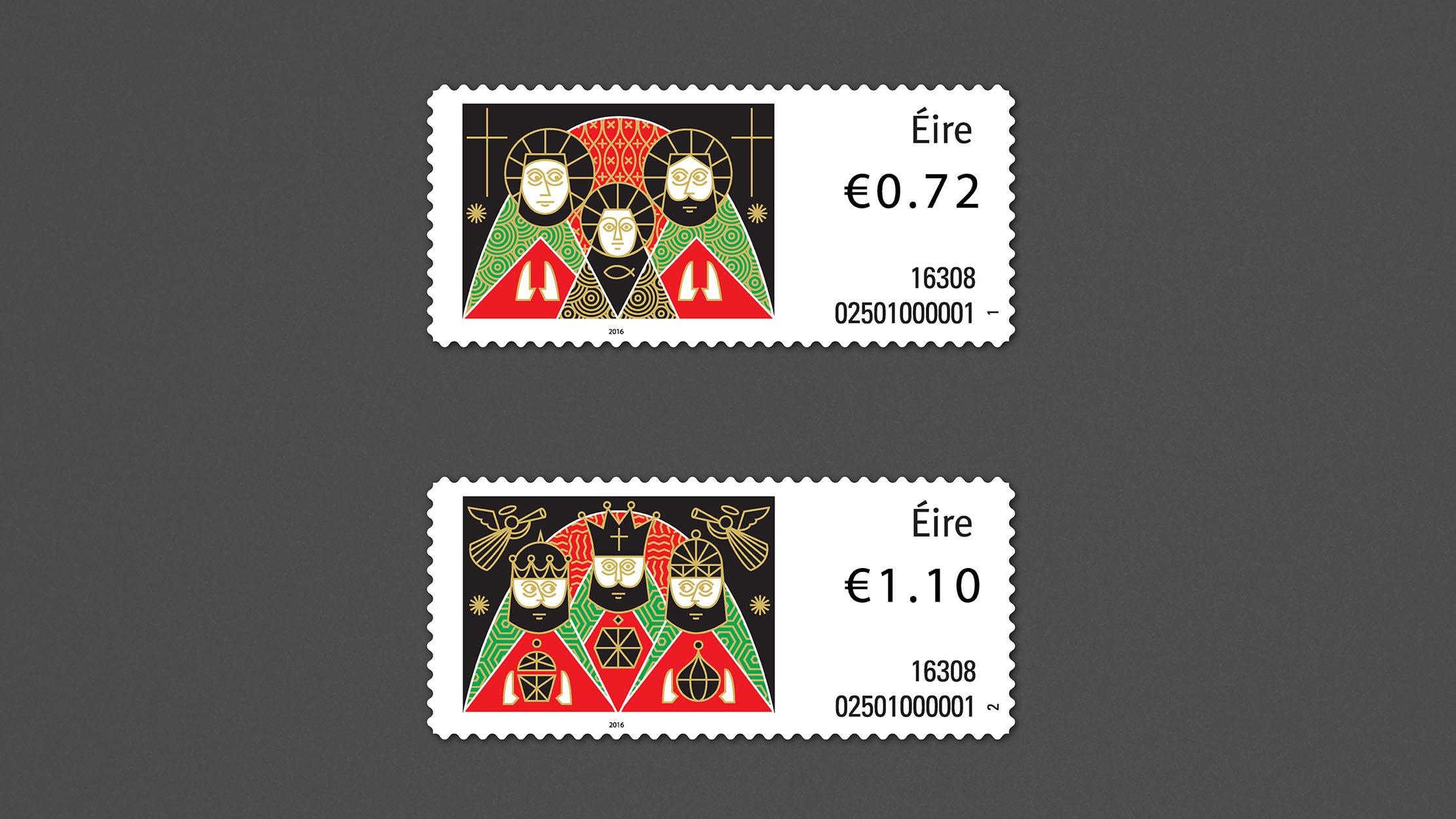 Christmas Stamps 2016 -2