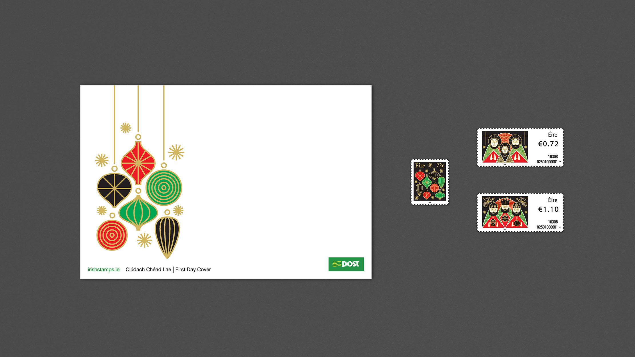 Christmas Stamps 2016 -3